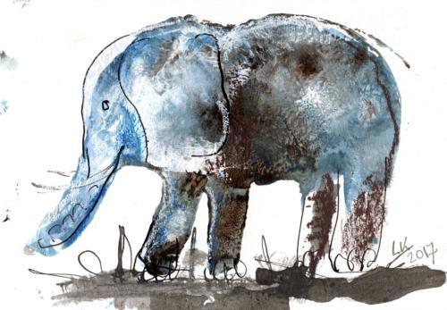 olifant 2 gedrukt klein
